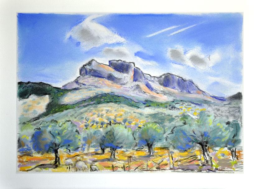 Bernard Collet  Peintures Paysages De Gr U00e8ce Et Des Cyclades